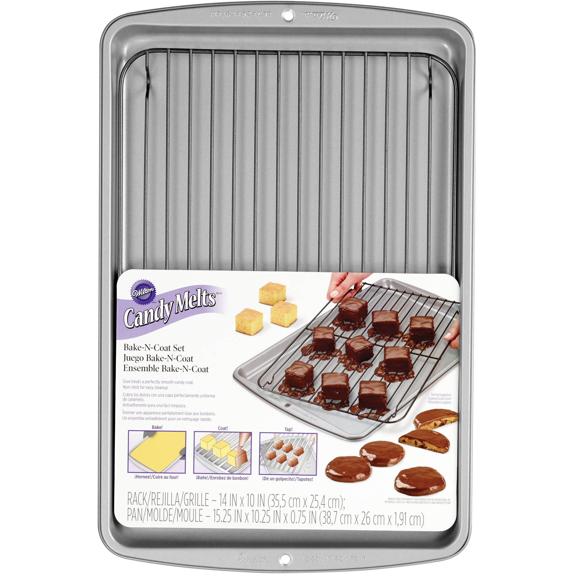 Wilton Candy Melts Bake 'N Coat Decorating Set 2105-0170