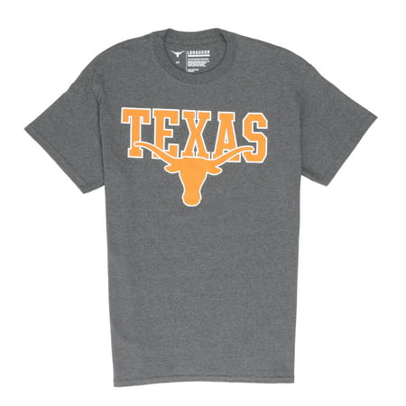 Ncaa Texas Longhorns Glass Football (NCAA Texas Longhorns Men's Diligent Short Sleeve Graphic Tee)