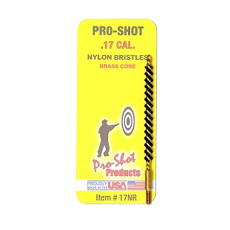 PRO-SHOT NYLON RIFLE BRUSH .17 CAL