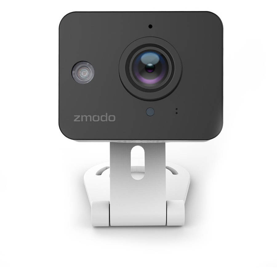 Zmodo 720P HD Mini WiFi Smart Security Camera Two-Way Audio Night Vision - Free 6-Month Cloud Service