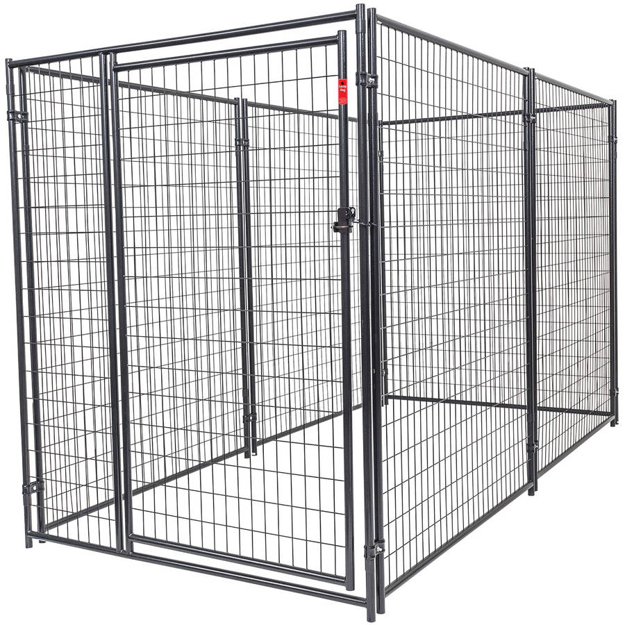 Lucky Dog Heavy Duty Dog Kennel 6' H x 5' W x 10' L