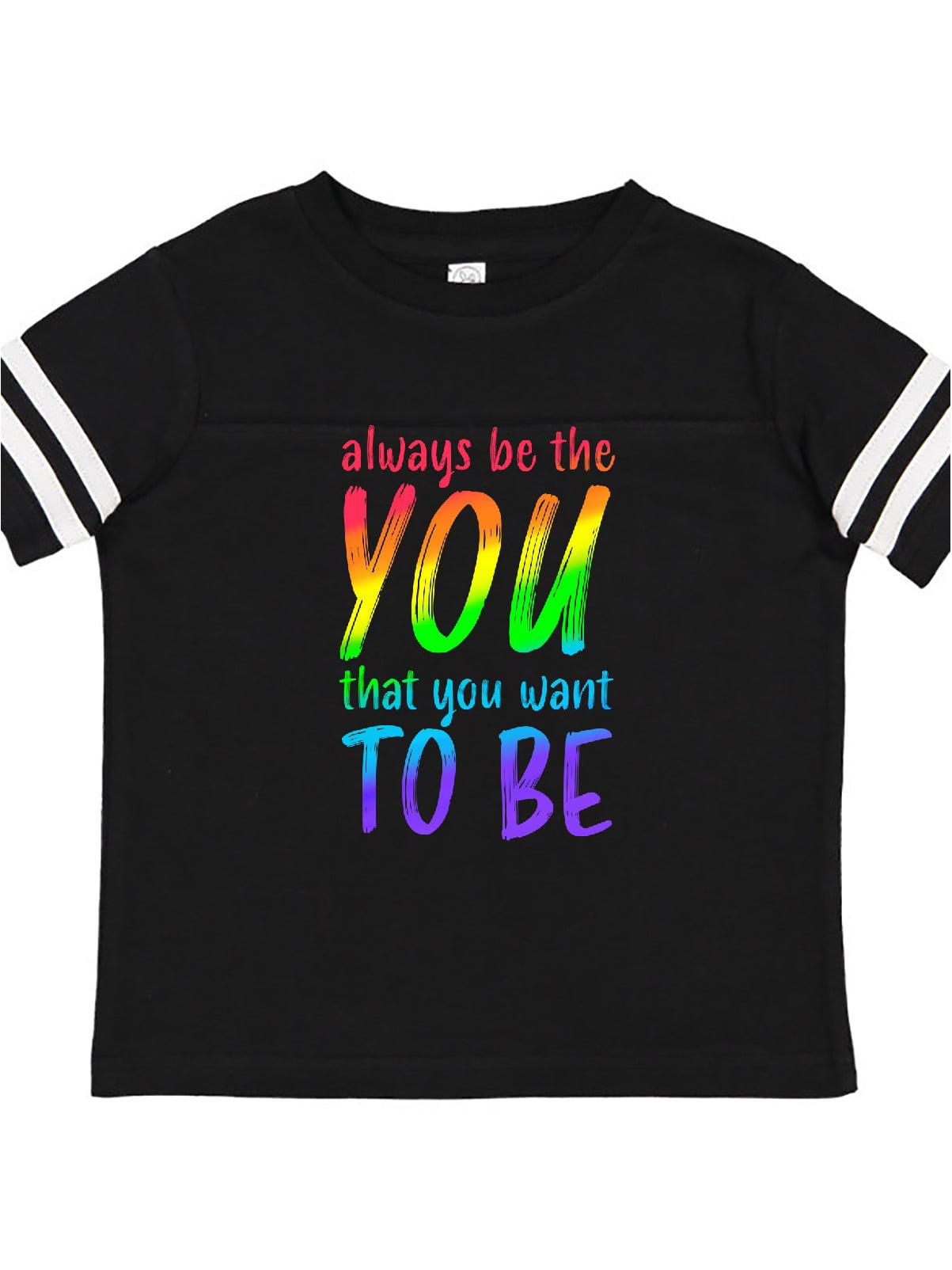 LGBT Rainbow Baby T-Shirt inktastic Always Be Yourself