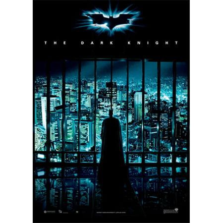 Batman Begins New Movie Poster - Batman: The Dark Knight - Movie Poster / Print (International Regular Style - Gotham City) (Size: 27