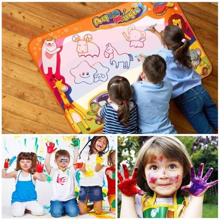 Large Water Drawing Mat Doodle Mat Xmas Gifts Girls Boys Age 2 3 4 5+ Toy Gift