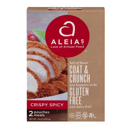 Image of Aleia's Coat & Crunch Gluten Free Crispy Spicy Pouches - 2 CT