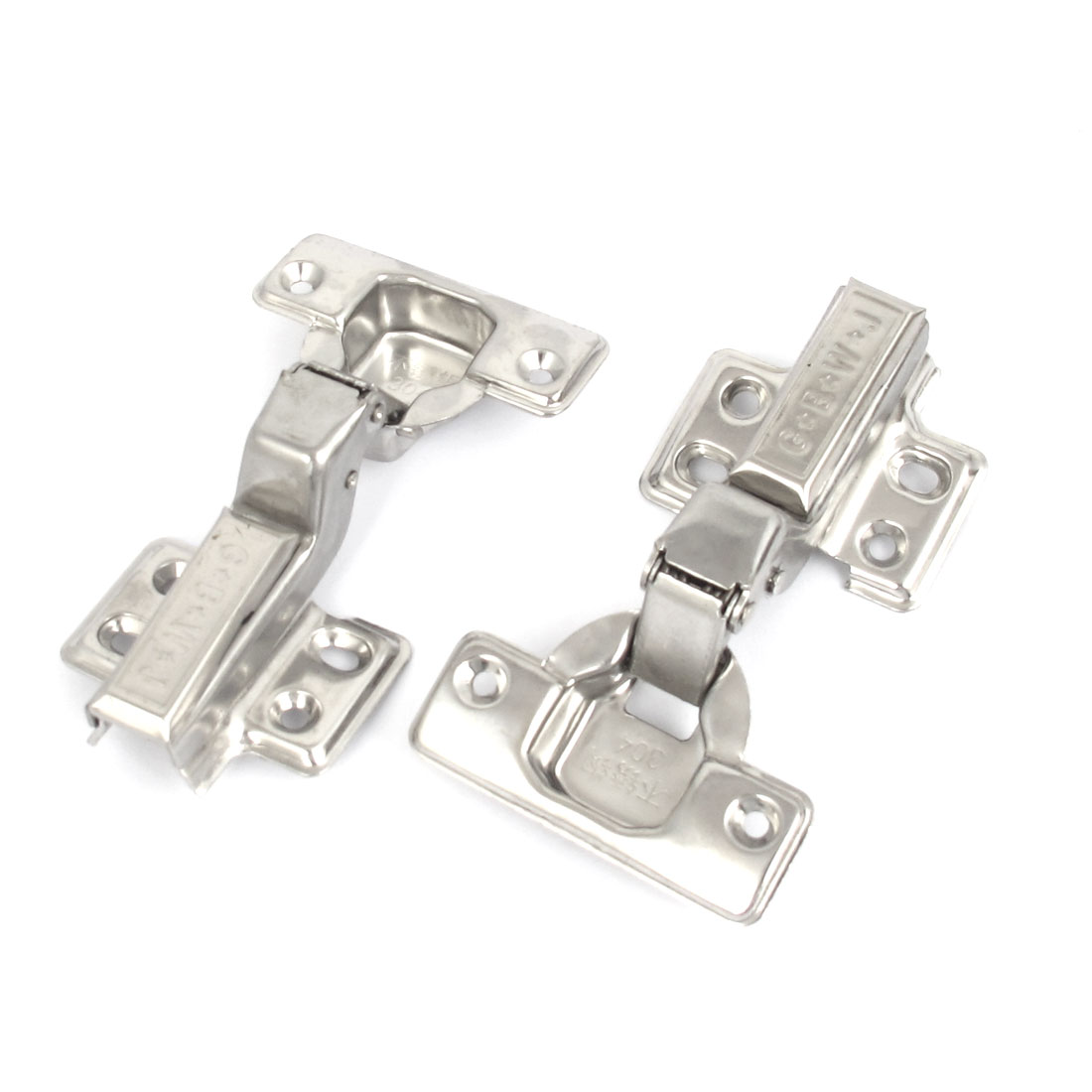 Uxcell 2pcs Kitchen Cabinet Hydraulic Self Close Concealed ...