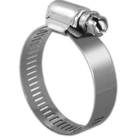 Image of Kdar 33025 Hose Clamp - Size 188 9.375 - 12.25 in. Stainless Steel - Pack of 6
