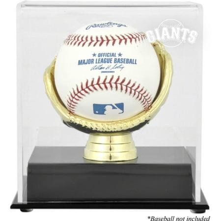 San Francisco Giants Fanatics Authentic Gold Glove Single Baseball Logo Display Case - No (Baseball Glove Case)