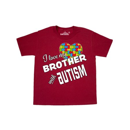 I Love my Brother with Autism Youth T-Shirt (I Love My Brothers)