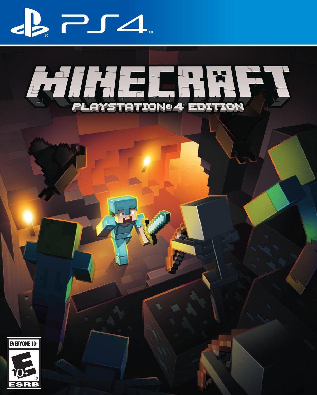 Minecraft Playstation 4 by Temp Manufacturer
