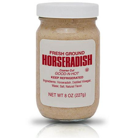 silver spring fresh ground prepared horseradish