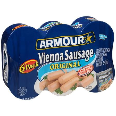Original Sausage ((12 Cans) Armour® Original Vienna Sausage, 4.6)