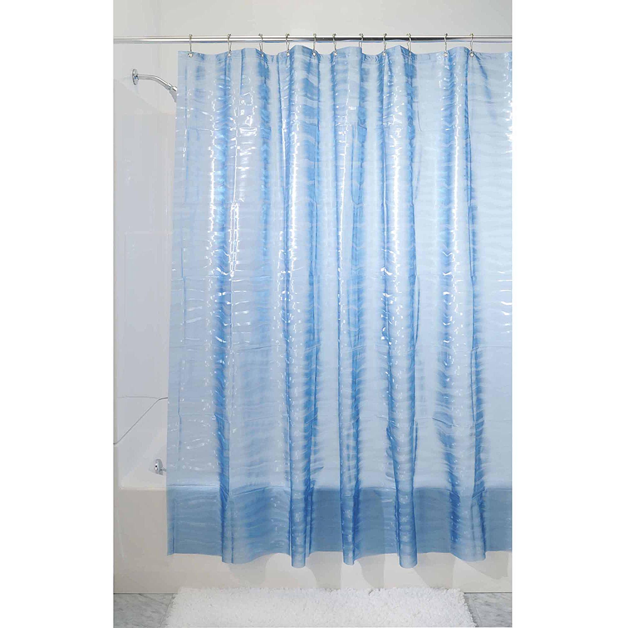 InterDesign Ripplz EVA Shower Curtain