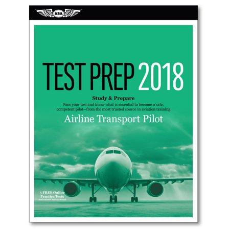 Airline Transport Pilot Test Prep 2018   Computer Testing For Airline Transport Pilot And Aircraft Dispatcher  Study   Prepare