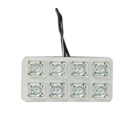 Universal Dome - Universal LED Dome Light Kit, White