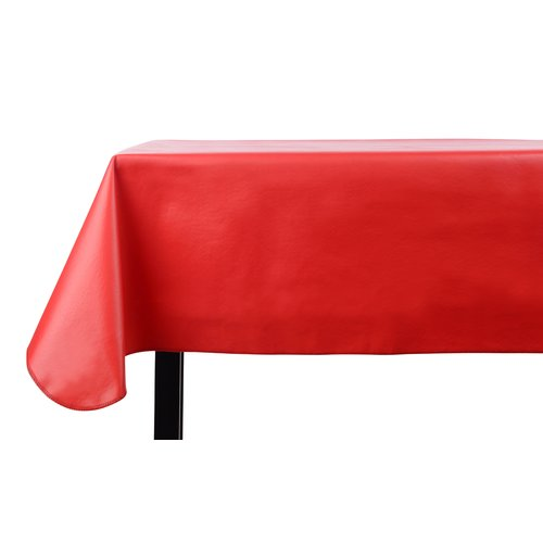 The Holiday Aisle Heavy Duty Vinyl Rectangle Tablecloth