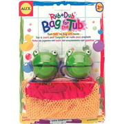 ALEX Toys Rub a Dub Bag for the Tub (Frogs & Ducks)