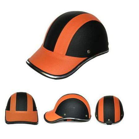 Mortorcycle Half Face Protective Helmet Unisex Adult Motorbike/Bike/Bicycle Helmet Half Open FaceABS (Best Half Face Helmet)