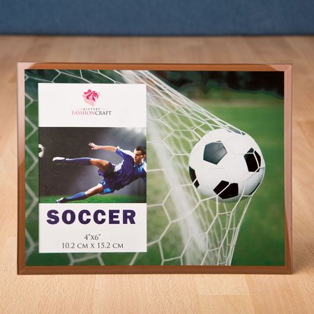 17 fabulous Soccer frame 4 x 6 from gifts by fashioncraft - Soccer Frames