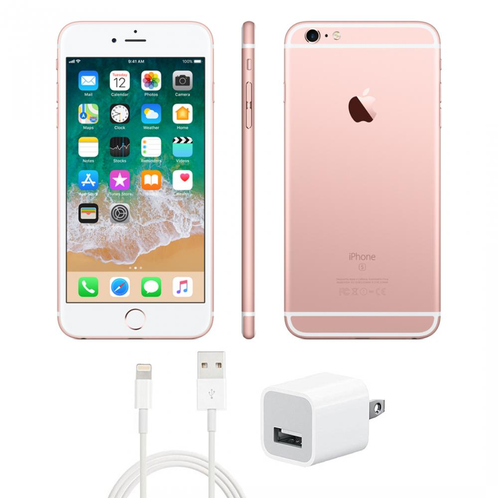 Refurbished Apple iPhone 6S 16GB Unlocked Rose Gold (Good Condition).