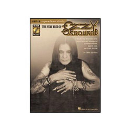 Hal Leonard The Very Best of Ozzy Osbourne Signature Licks Book & CD