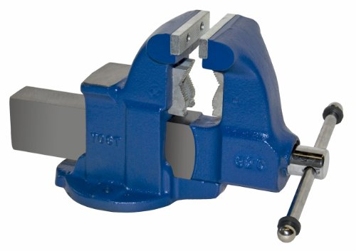 "Yost Vises 132C 4.5"" Heavy-Duty Combination Pipe and Bench Vise with Stationary Base, Made in US by Yost Vises"