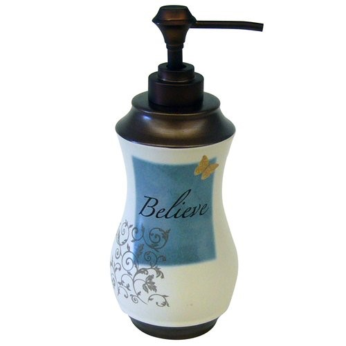 Mainstays Butterfly Blessing Lotion/Soap Pump, 1 Each