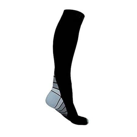 Compression Socks for Men & Women Best Graduated Athletic Fit for Running, Nurses, Shin Splints, Flight Travel & Maternity Pregnancy - Boost Stamina, Circulation & (Best Way To Boost Stamina)