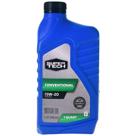 Super Tech Conventional SAE 5W-20 Motor Oil, 1