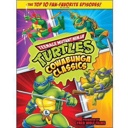 Teenage Mutant Ninja Turtles: Cowabunga Classics (Full Frame)