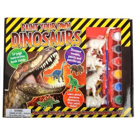 Paint Your Own Dinosaur : Have Fun Bringing Amazing Dinosaur Models to Life!