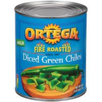 12 PACKS : Ortega Diced Green Chiles - 26 oz. can.