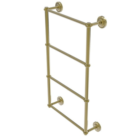 Prestige Regal Collection 4 Tier 36 Inch Ladder Towel Bar with Twisted