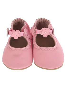 Robeez Baby Girls' Claire Mary Jane Soft Soles
