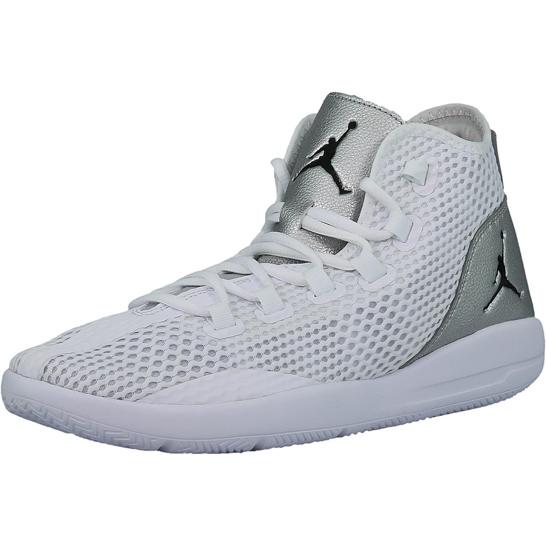 dd4b42f553a67d Nike Men's Jordan Reveal White / Black Metallic Silver Infrared 23 Mid-Top  Mesh Basketball Shoe - 11.5M