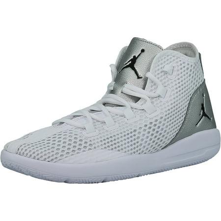 new concept 4d6d6 8911e Nike Men s Jordan Reveal White   Black - Metallic Silver Infer Red 23  Mid-Top ...