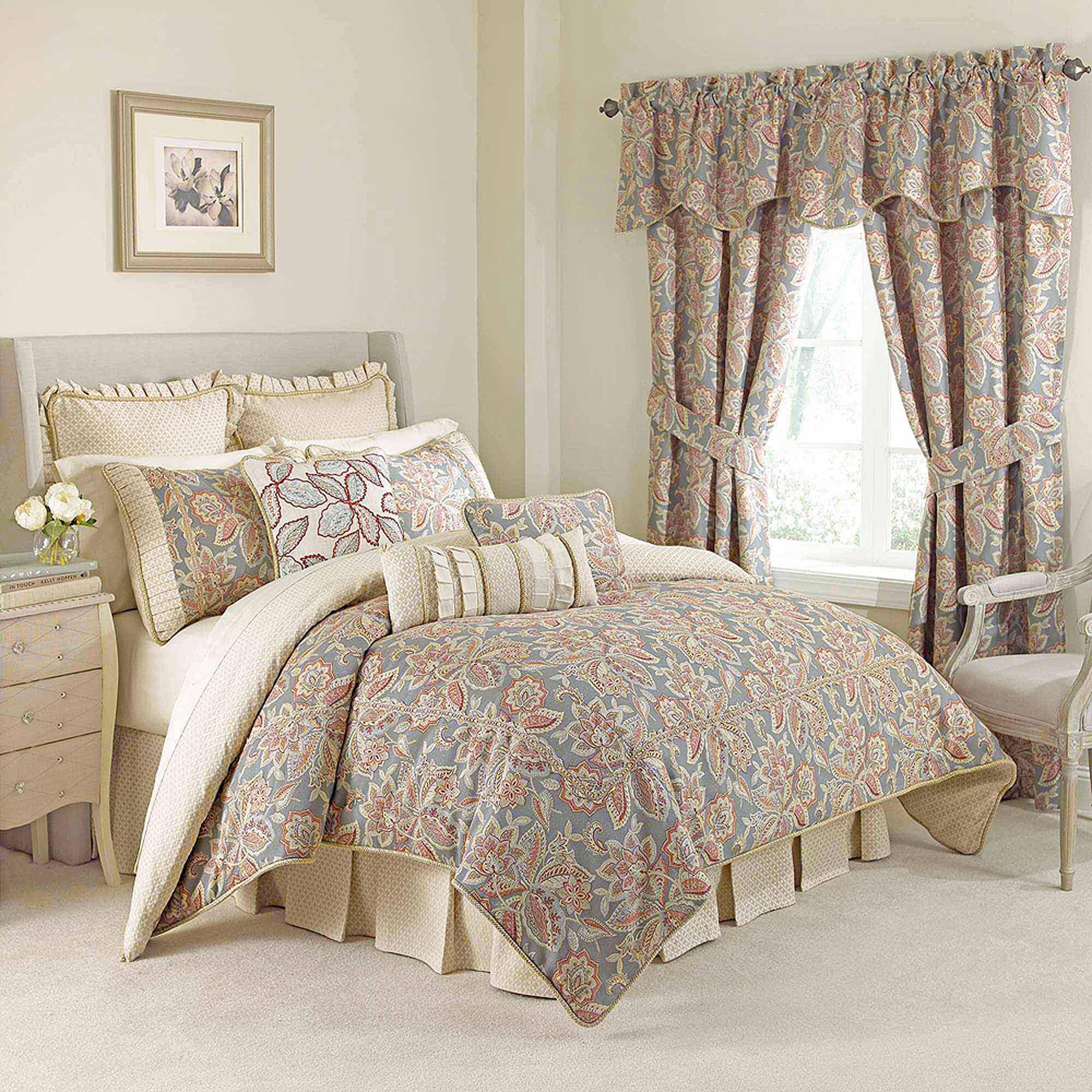 Waverly Treasure Trove Bedding Comforter Set Walmart Com