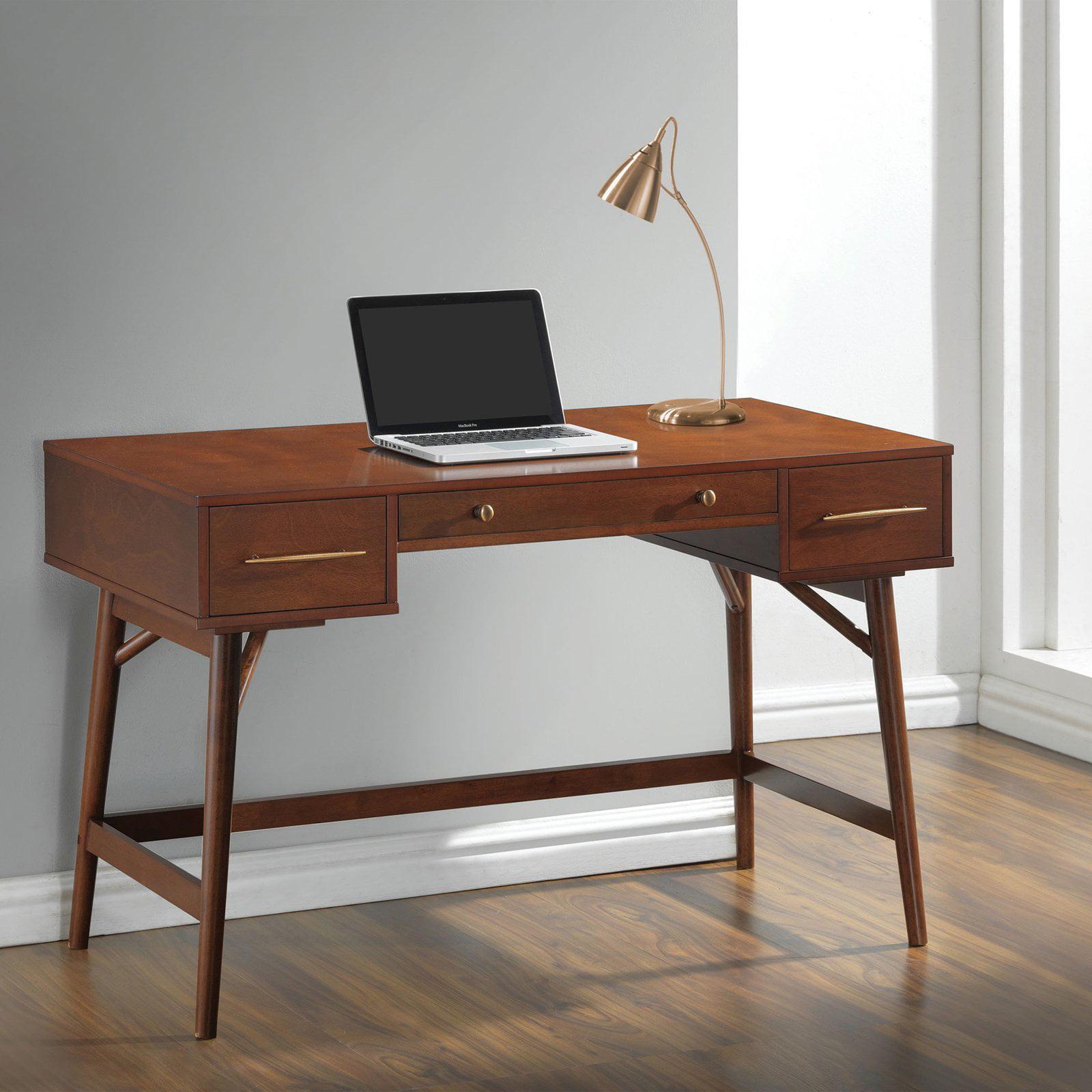 Coaster Company Mid Century Modern Writing Desk, Walnut