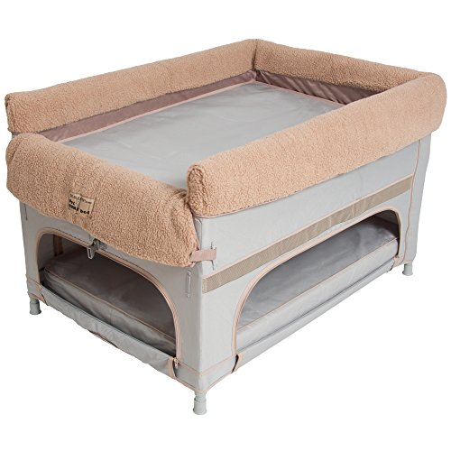 Large Duplex Pet Bunk Bed Grey Liner Walmart Com