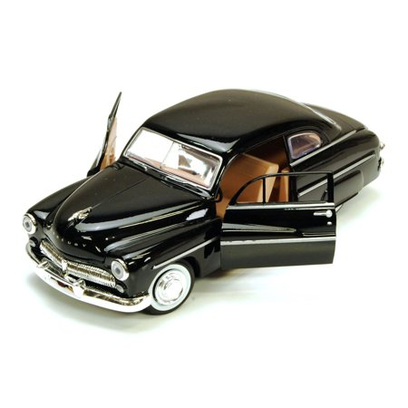 1949 Plymouth Coupe - 1949 Mercury Eight Coupe, Black - Motormax 73225 - 1/24 scale Diecast Model Toy Car