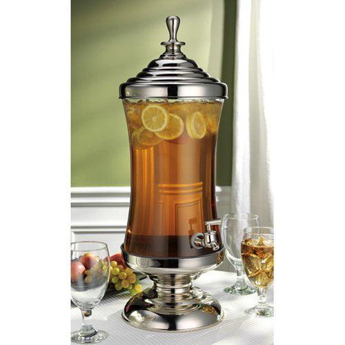 Godinger Monticello 2.5 gal. Glass Beverage Dispenser