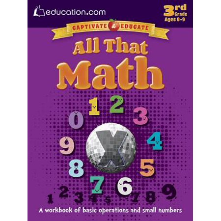 Halloween Color By Number Math Sheets (All That Math : A Workbook of Basic Operations and Small)