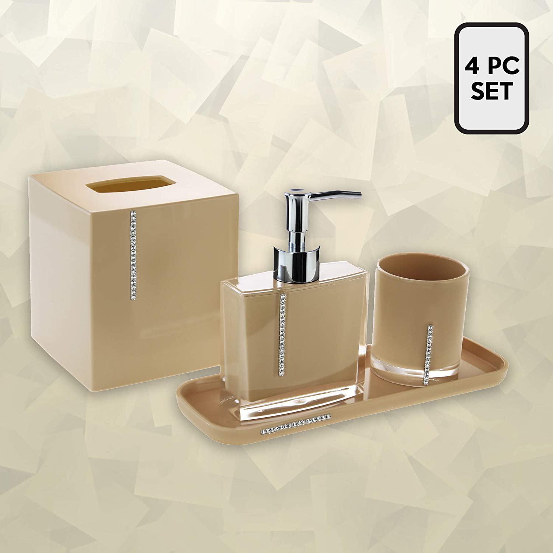 Tissue Box Bathroom Decor Accessory Set, Looking For Bathroom Accessories