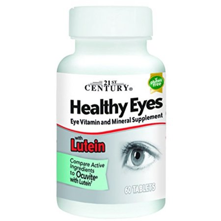 21st Century Healthy Eyes with Lutein Tablets 60 ea