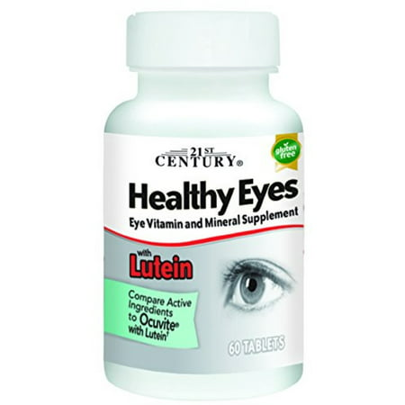 21st Century Healthy Eyes with Lutein Tablets 21st Century Healthy