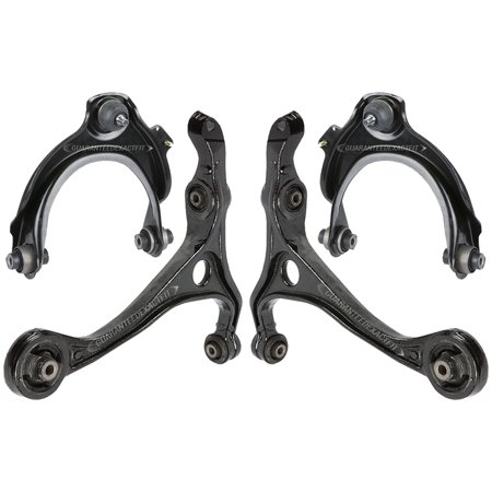 Complete Front Upper & Lower Control Arm Kit For Honda Accord & Acura (Honda Lowering Kits)