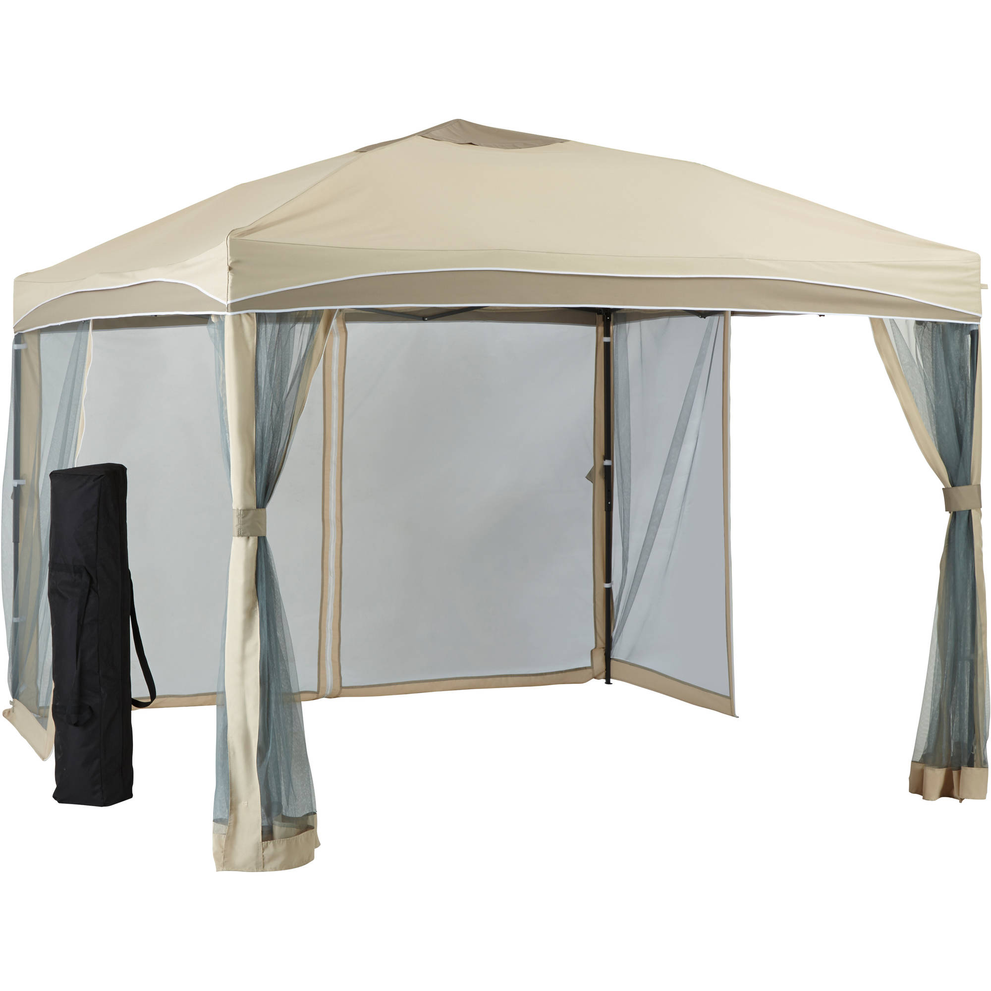 Steel Portable Gazebo : Better homes and gardens lawrence portable patio gazebo