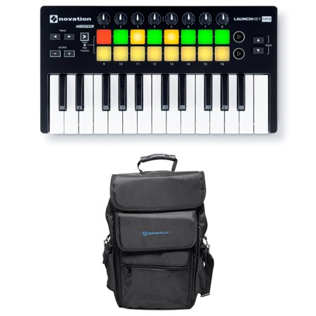 Novation LAUNCHKEY MINI MK2 25 Key USB Ableton Keyboard Controller+Carry Bag