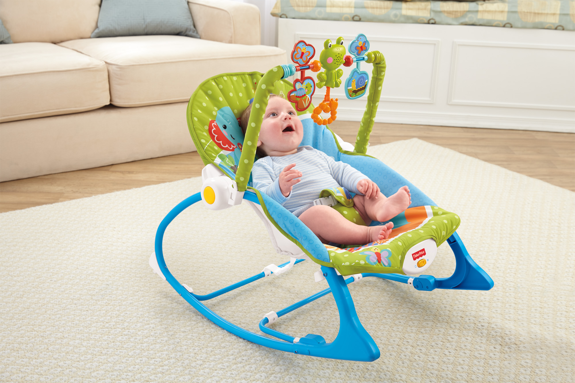 424cbce44 Fisher-Price Infant-to-Toddler Rocker