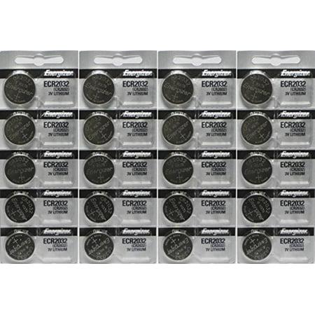 Energizer ECR2032 3-Volt Lithium Coin Batteries (20 (Energizer 2032bp 4 3 Volt Lithium Coin Battery)